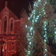 Bicester Methodist Church in Advent
