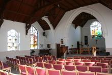 The Church looking diagonally towards the Vestry
